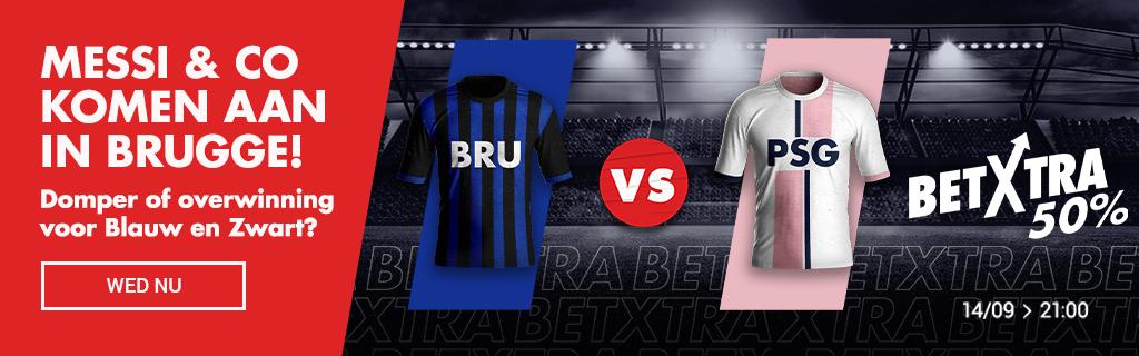 Bruges vs PSG