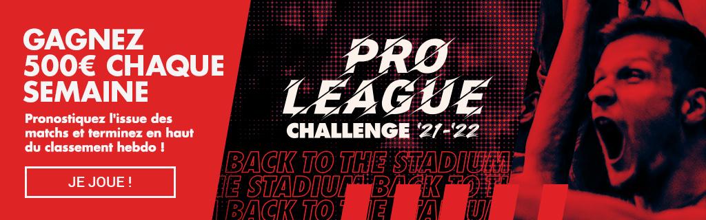 Pro league challenge 21-22