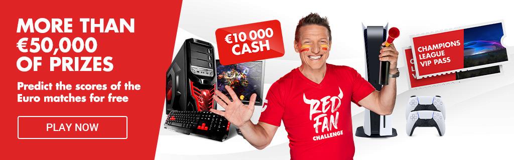Red fan challenge