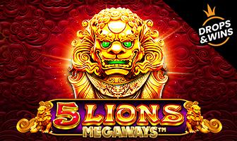 Pragmatic Play - 5 Lions Megaways