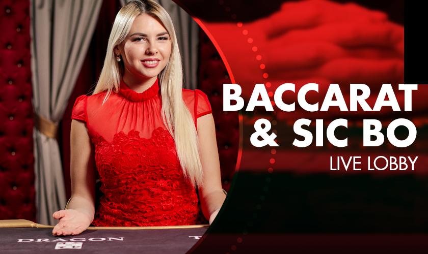 Evolution - Baccarat & Sic Bo Live Lobby