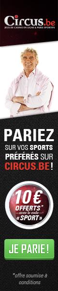 Parier en ligne avec le bookmaker Circus.be