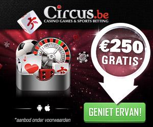 Bonus Circus.be Online Speelhal