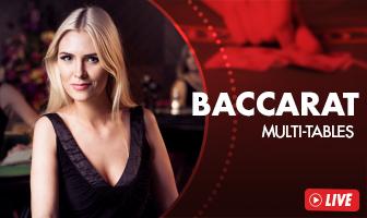 EVO - Baccarat Live Lobby