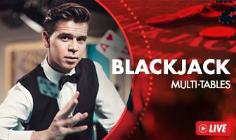EVO - Blackjack Live Lobby