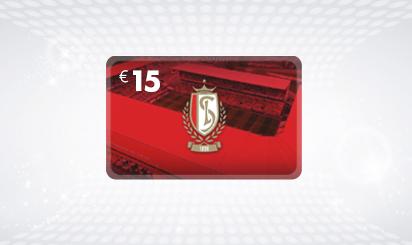 E-voucher van € 15 voor Standard Luik