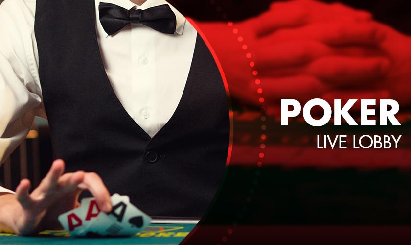 Evolution - Poker Live Lobby