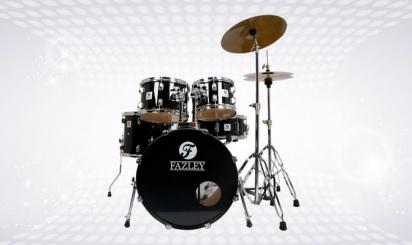 Volledig Fazley FDK-100 Spirit Basic-drumstel
