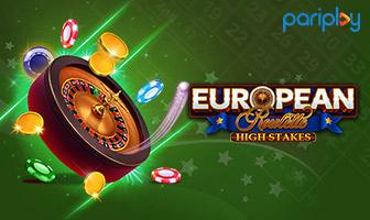 PariPlay - European Roulette High Stakes