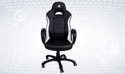 Black Nacon gaming chair