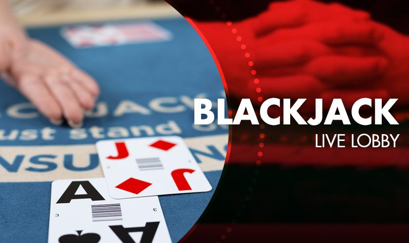 Evolution - Blackjack Live Lobby
