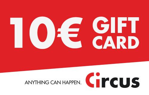 Circus Gift Card de 10 €