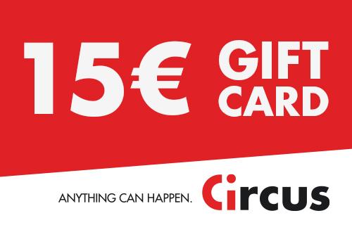 Circus Gift Card de 15 €