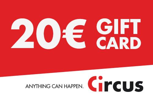 Circus Gift Card de 20 €
