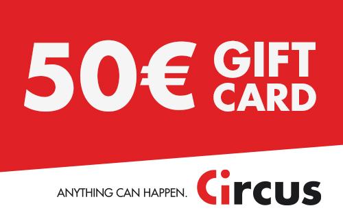 Circus Gift Card de 50 €