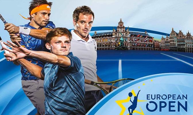 European Open in Antwerpen met David Goffin, Richard Gasquet en David Ferrer