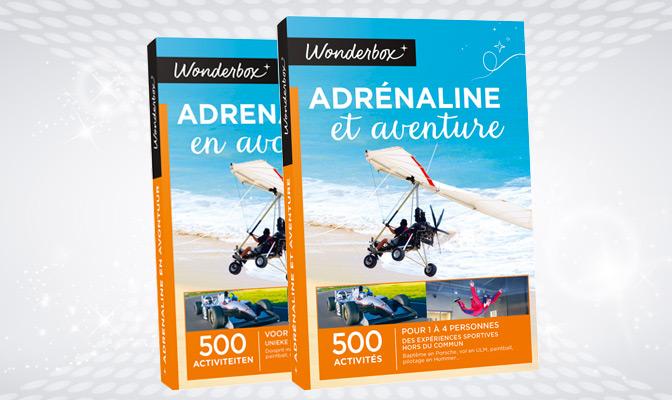 Wonderbox adrénaline et aventure