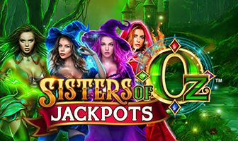 Microgaming - Sisters Of Oz Jackpots