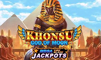 Playtech - Mega Fire Blaze: Khonsu God of Moon