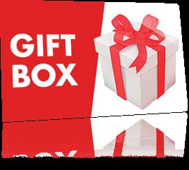 Gift Box pour une surprise tous les mois