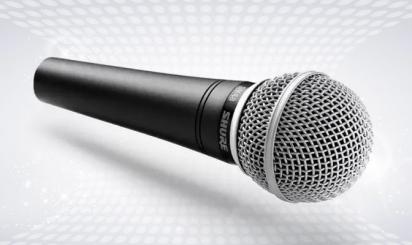 Professionele en draadloze SM48-microfoon
