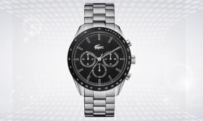 Lacoste, Boston, chronograaf, horloge