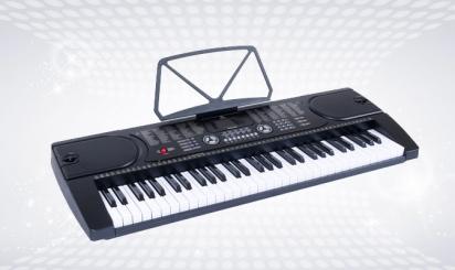 Zwarte Fazley FKB-050-toetsenbord met 61 toetsen