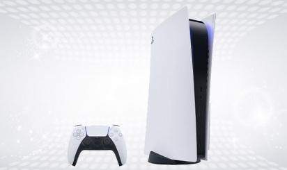 PS5 + 1 game + joystick