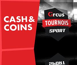 Des coins et du cash à gagner avec les tournois de sport Circus