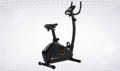 Black exercise bike