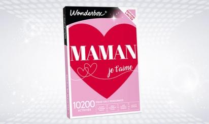 Wonderbox 'Maman je t'aime'