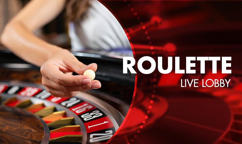 Evolution - Roulette Live Lobby