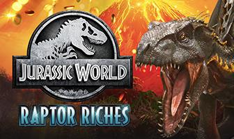 Fortune Factory Studios - Jurassic World: Raptor Riches